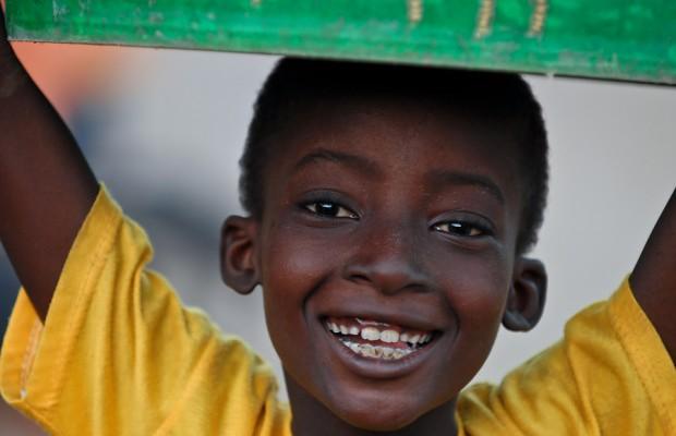 bigstockphoto_African_Boy_Yellow_Shirt_Gree_3926088